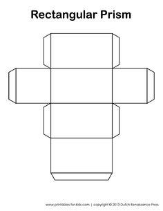 Printable D Cube Template Color It Cut It Out Fold It And Glue