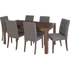 Buy Adaline Walnut Extendable Dining Table and 6 Chairs at Argos co uk  Pinterest   The world s catalog of ideas. Adaline Walnut Extendable Dining Table And 6 Chairs. Home Design Ideas