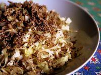 Salada de Repolho com Gergelim