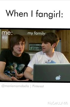 When I fangirl. Credit to @moniemomobella ARE WE GOING TO MENTION THAT THAT IS IAN HECOX AND ANTHONY PADILLA????