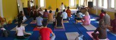 Yoga lecture at Nada Yoga School in Rishikesh. http://www.nadyoga.org