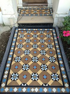 Victorian Tiles London Victorian Pathway, Victorian Hallway, Victorian Tiling Victorian tiles is an art is much more difficult than standard tiling and often re(...)