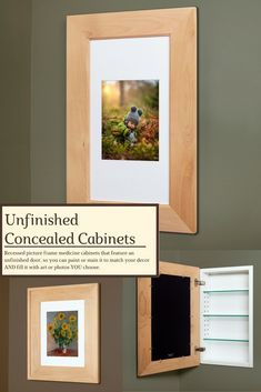 Replace Medicine Cabinet Door Amusing The Concealed Cabinet  A Recessed Mirrorless Medicine Cabinet Review