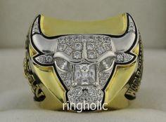 1997 Chicago Bulls National Basketball World Championship Rings Ring