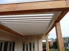 Pergola is an additional structure that adds to the appearance of your home attached to different parts of house such as front garden, garage, terrace and backyard etc. Diy Pergola, Louvered Pergola, Wood Pergola, Deck With Pergola, Outdoor Pergola, Cheap Pergola, Patio Roof, Pergola Kits, Outdoor Decor