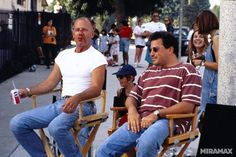 Pulp Fiction behind the scenes.