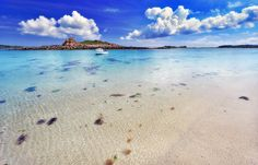 Isles Of Scilly, Cornwall. Featured here is the Landing Beach, on the island of Samson.