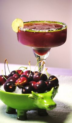 Cherry Margarita Cocktails