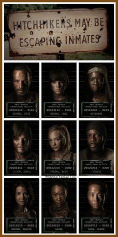 Rick Grimes - Carl Grimes - Michonne - Daryl Dixon, Beth Greene - Glenn and Maggie - Tyreese and Sasha - The Walking Dead
