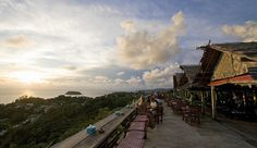 After Beach Bar- overlooking Kata, Phuket. So relaxing <3