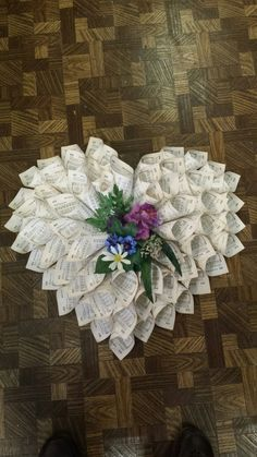 Paper wreath by TeresaKarenCrafts on Etsy