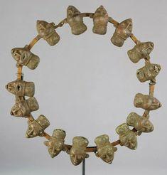 Title: Bamileke or Bamum Bamun ceremonial bronze necklace African Tribal Art CameroonDescription: CAMEROONGrassland A. Ethnic Jewelry, Tribal Art, African Art, Diamond Jewelry, Women Jewelry, Bronze, Auction, Diamonds, Fashion