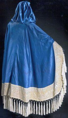 Léon Bakst - Costume - Cape - Satin, Broderies et Passementerie - 1914