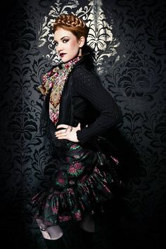 Tweed Rose is your daily fashion and style, giving you the best of fashion glossy and international runways. Dirndl Dress, Fall Winter, Autumn, Russian Fashion, Silk Roses, Daily Fashion, Passion For Fashion, Style Me, Goth