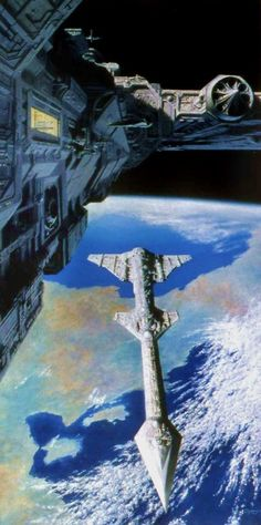 Starships by Keithspangle on DeviantArt Arte Sci Fi, Sci Fi Art, Interstellar, Spaceship Art, Sci Fi Ships, Concept Ships, Science Fiction Art, Space Travel, Space Crafts