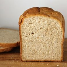 Bread Machine: Whole Wheat Bread ~ this is a soft, fluffy whole wheat bread, well-suited for sandwiches, and just as good as toast.