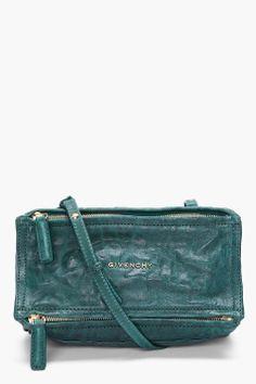 Givenchy Mini Dark Green Pandora Pepe Bag