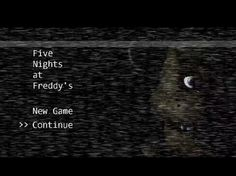 Five Nights at Freddy's. Get ready to wet yourself with fear.