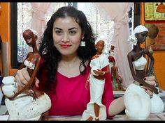 a la hora de pintar y decorar una africanista de ceramica el tono de la piel que le des para toda la diferencia y yo te enseño 3 formas así que ve el video y empieza aplicarla en tu cerámica