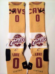 Kevin Love CAVS Jersey Custom Nike Elite Basketball by LeagueReady