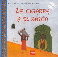 La cigarra y el ratón  Cuentos infantiles