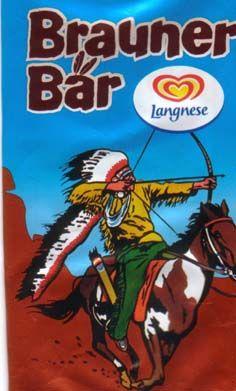Brauner Bär - mit dem Indianer...toll!