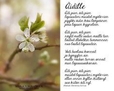 Finnish Words, Mothers Day Poems, Seriously Funny, Vienna, Gratitude, Herbs, Sayings, Plants, Finland