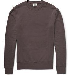 Acne Studios Casey Loopback Cotton-Jersey Sweatshirt | MR PORTER