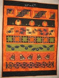 Halloween Quilts and such...