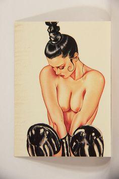L008683 Olivia DeBerardinis 1992 Card #44 - L8X DV8 II - 1989 / Pin-Up Art