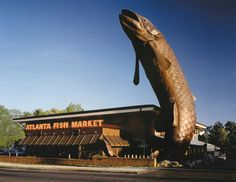 Don't know about you, but this is a big enough salmon for me!  You could strive for bigger --- but!!!!    Really good restaurant in Atlanta - Buckhead area.