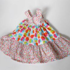 Sprinkle birthday dress