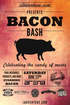 New York...If you love bacon (who doesn't), then you won't want to miss the First Annual Bacon Bash on June 23, 2012 in Times Square...
