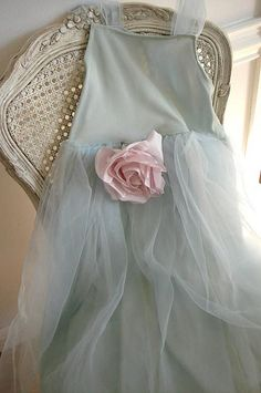 Shabby Party Dress by such pretty things, via Flickr