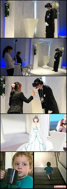 Casamento Virtual this is pretty cool though they should also download some anime guys because there are some girls AND GUYS that want to marry anime guys