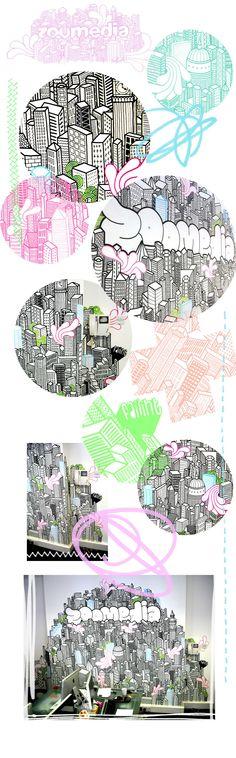City wall by Faiiint