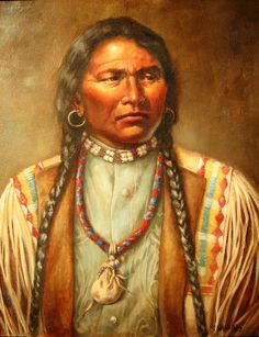 """Chief Ouray - """"Ouray the Arrow"""" of the Southern Utes - (1833-1880). In 1863 the Utes ceded all land in Colorado Territory """"east of the mountain tops,"""" the """"Continental Divide."""" The Utes were given $10,000 worth of goods, and $10,000 worth of provisions every year for 10 years, and the lands west of the divide. Many whites thought that was too much. At an 1868 treaty, Ouray held out for 16,000,000 acres of sloped forest and meadows, but that too was soon lost and the Utes were driven into…"""