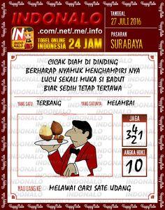 Prediksi Togel Online Live Draw 4D Indonalo Surabaya 27 Juli 2016