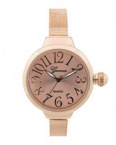 1aa847bf0e2 Rose Garden Pink Watch, Gold Watch, Beautiful Watches, Cute Jewelry,  Jewelry Box