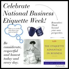 National Business Etiquette Week, created by professionality on Polyvore