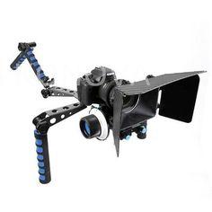 KONOVA DSLR Spider Shoulder Support Steady Rig Follow Focus Matte box Kit 5D2