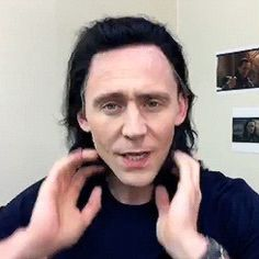 Tom Hiddleston  , Loki ;)