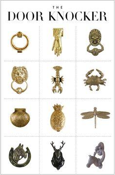 Forget the statement ring...statement door knockers- follow us on www.birdaria.com like it love it share it click it pin it!!!!