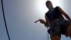 Dangerous to sail Rope presses bearing