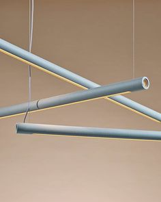 New discoveries and product launches from Maison et Objet 2019 - Hand and Eye Studio Linear Light Fixture, Linear Lighting, Lighting Design, 12v Led Lights, Subtle Background, London Fields, Ceramic Light, Green Opal, Contemporary Chandelier