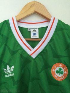 358262921 Ireland Jersey Italia 90 Replica