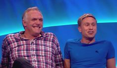 The adorableness that is Greg Davies and Russell Howard.