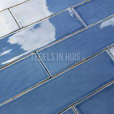 EQ Langwerpige witjes 7,5x30 cm handvorm wandtegel glans blauw blue - Artikelcode: TOZCW277. - Nu in de aanbieding voor slechts € 33,90 p/m2 incl. BTW bij Tegels in Huis.nl