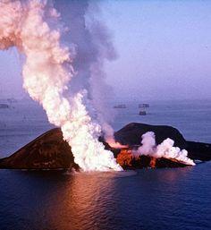 Surtsey, el nacimiento de una nueva isla en Islandia