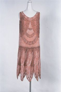 Dress, french 1927-1928 Paquin